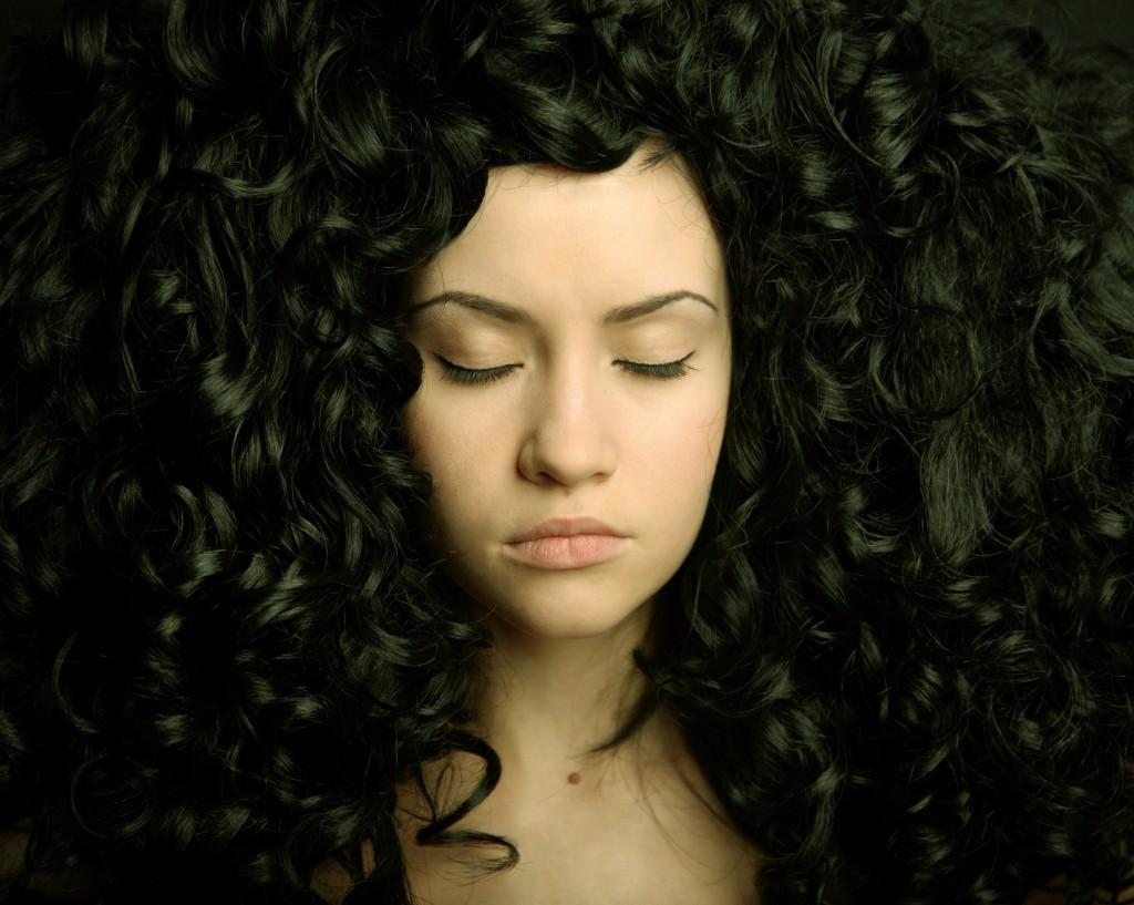Woman Curls