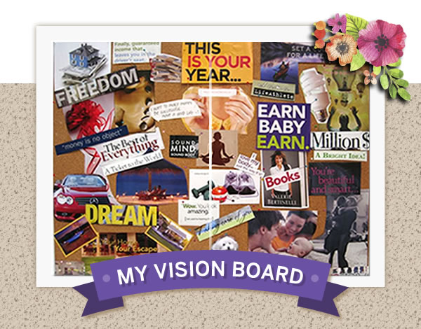 why a vision board is a powerful tool for making your dreams real